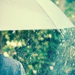 雨降りの日に「ハレ」を渡すひと