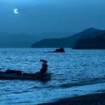 水面下の攻防戦。雨降る筏、釣りの女神は微笑むか?